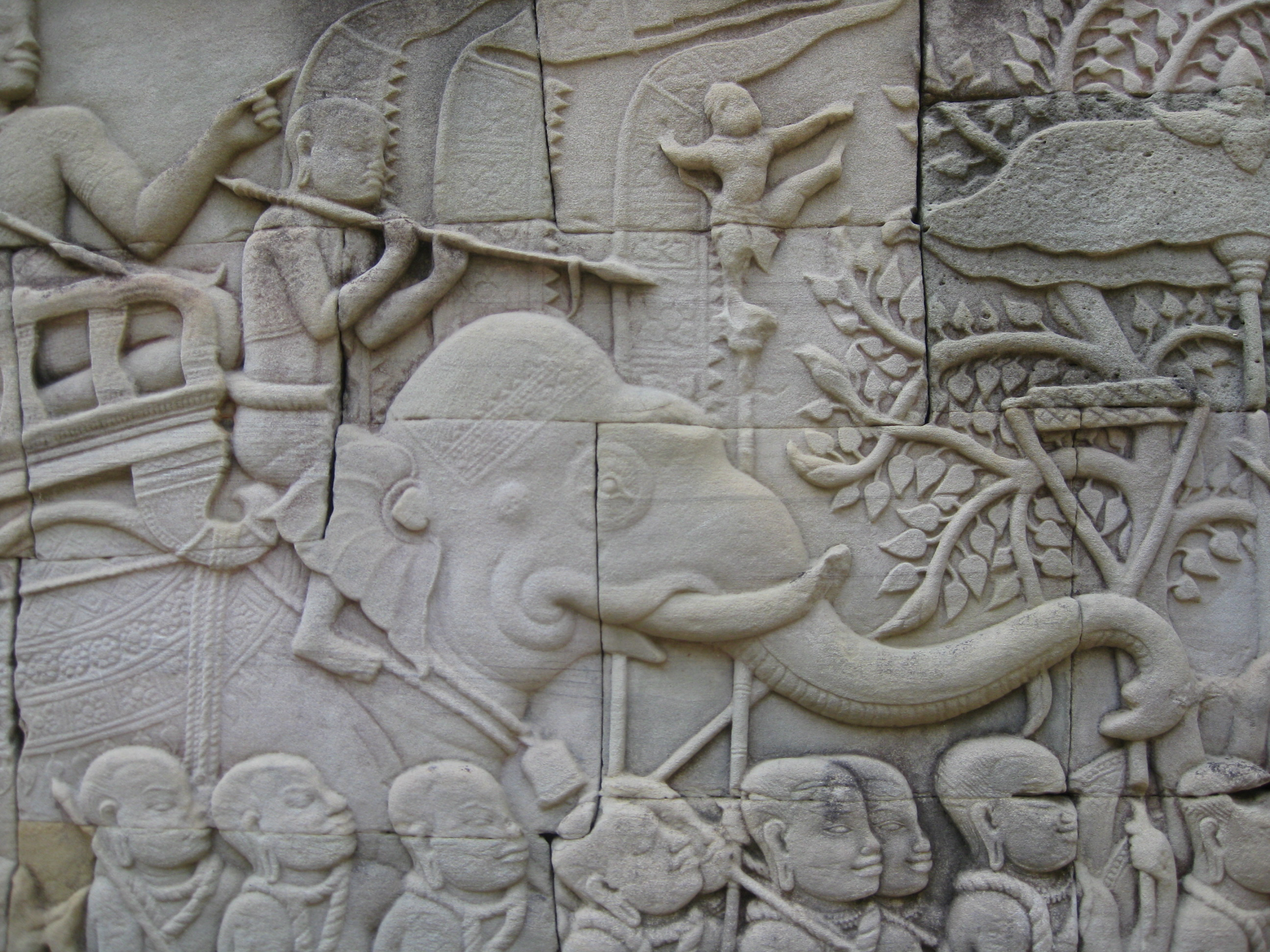 Carving at angkor wat quipidity