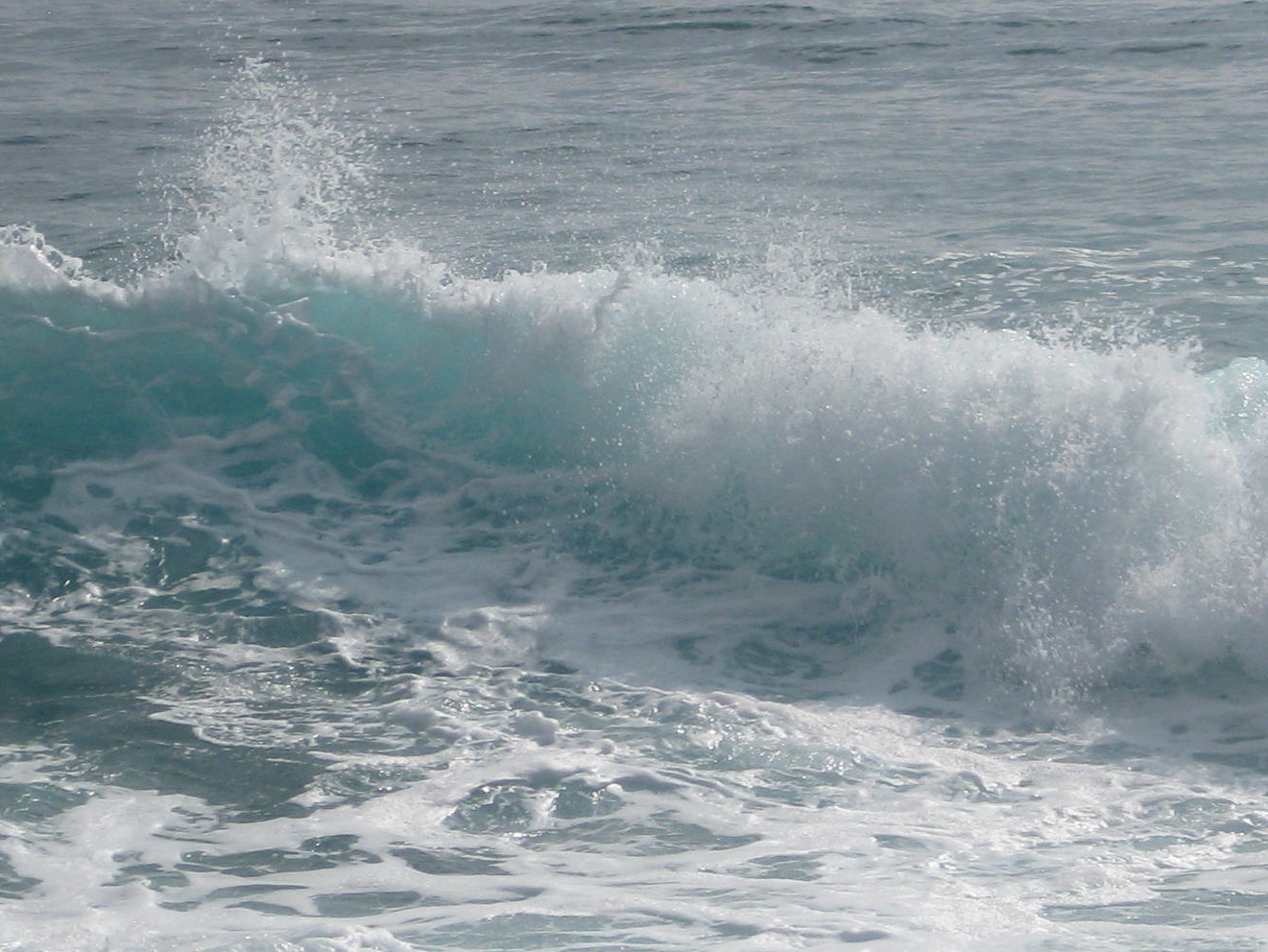 Kauai Beach Waves 1