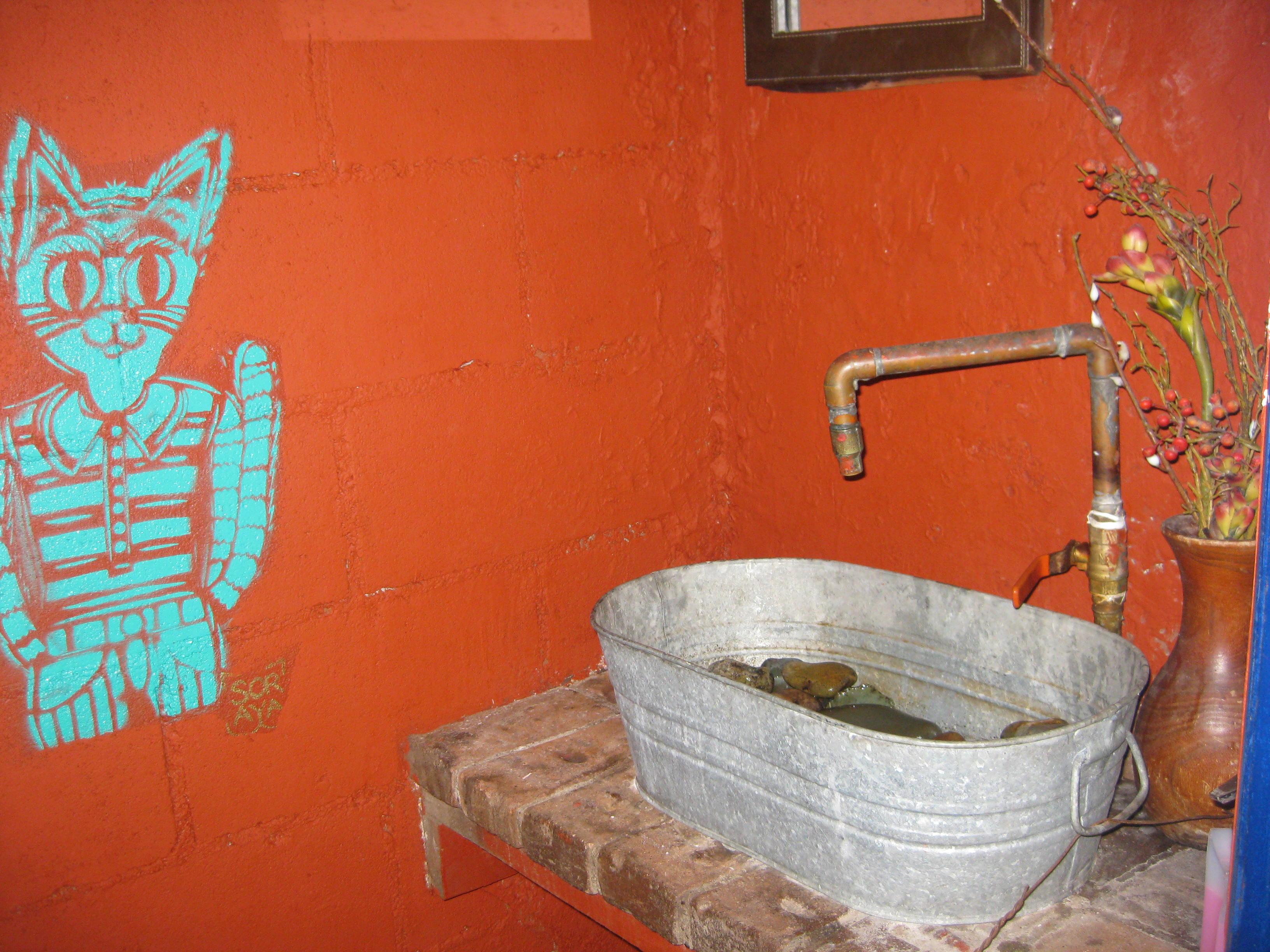 Metal Stone Sink