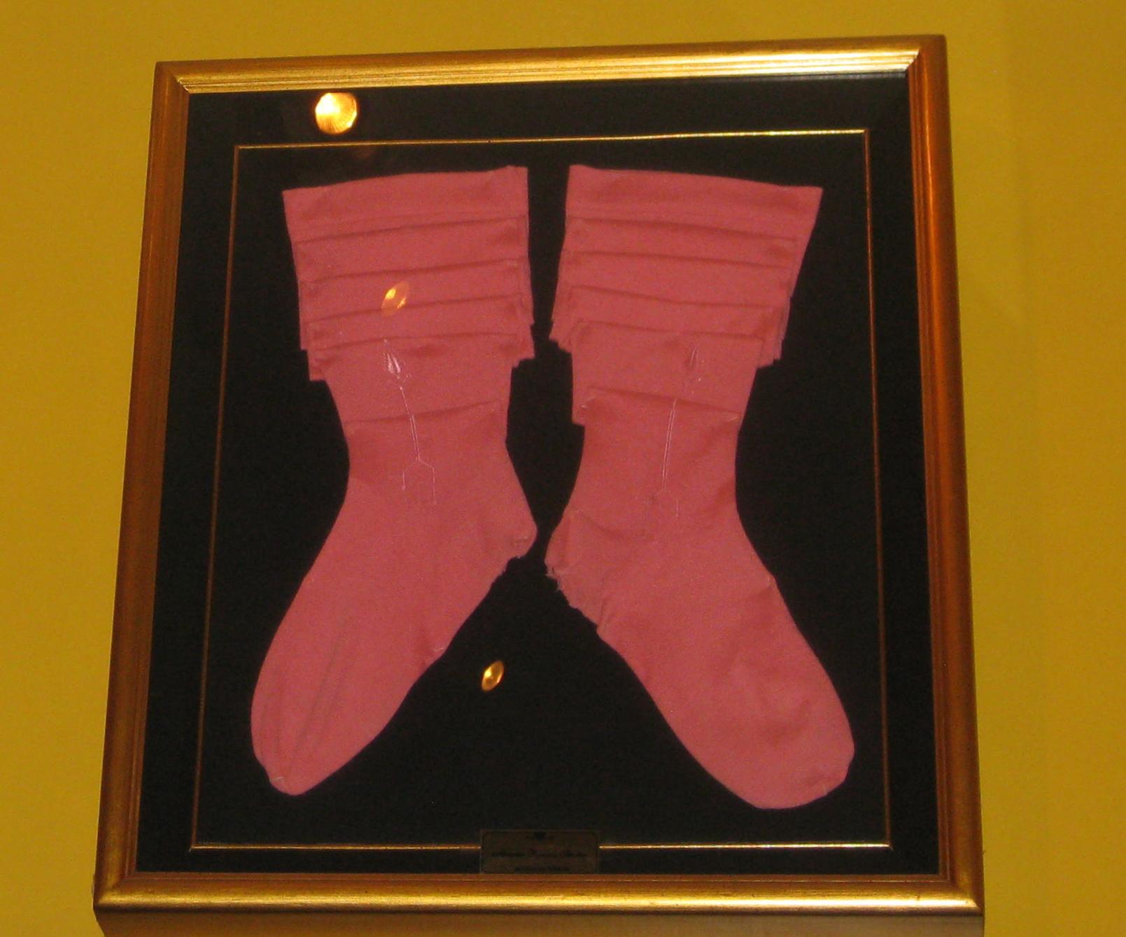 Pink Bullfighter Socks