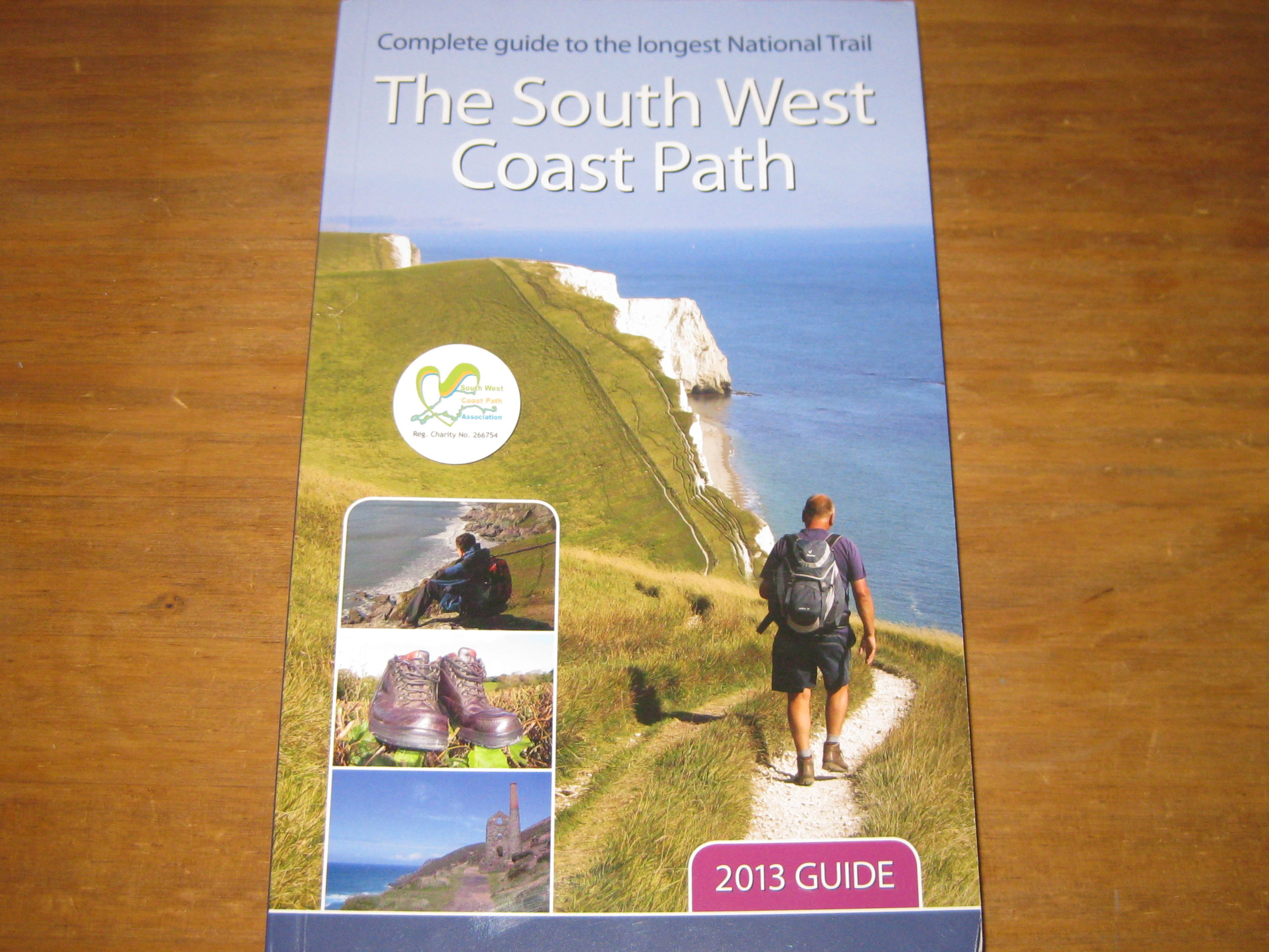 South West Coast Path Book