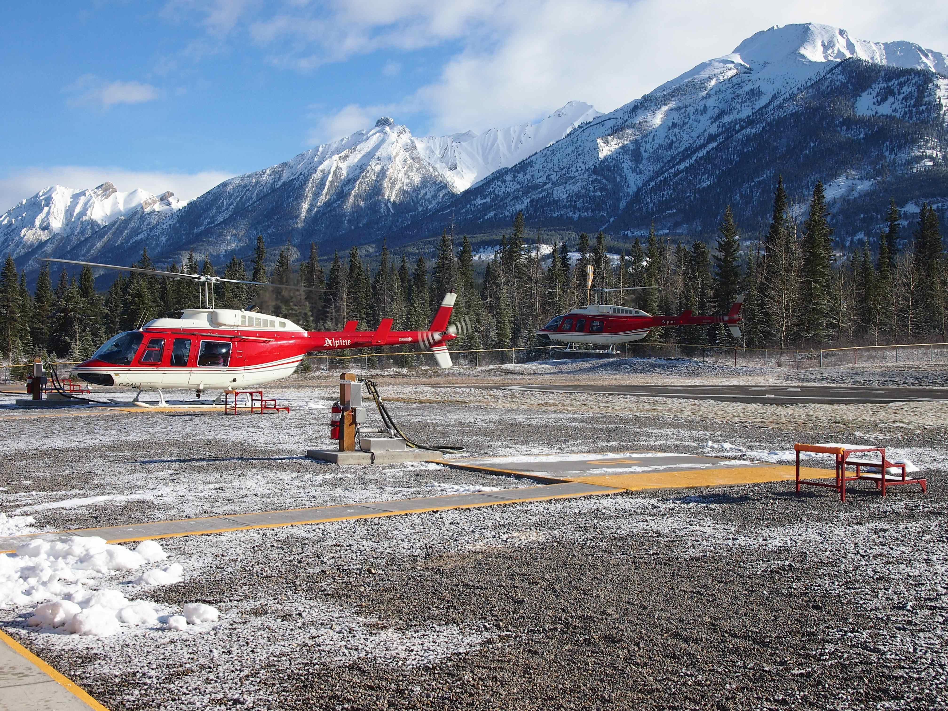 Banff Helicopter 1