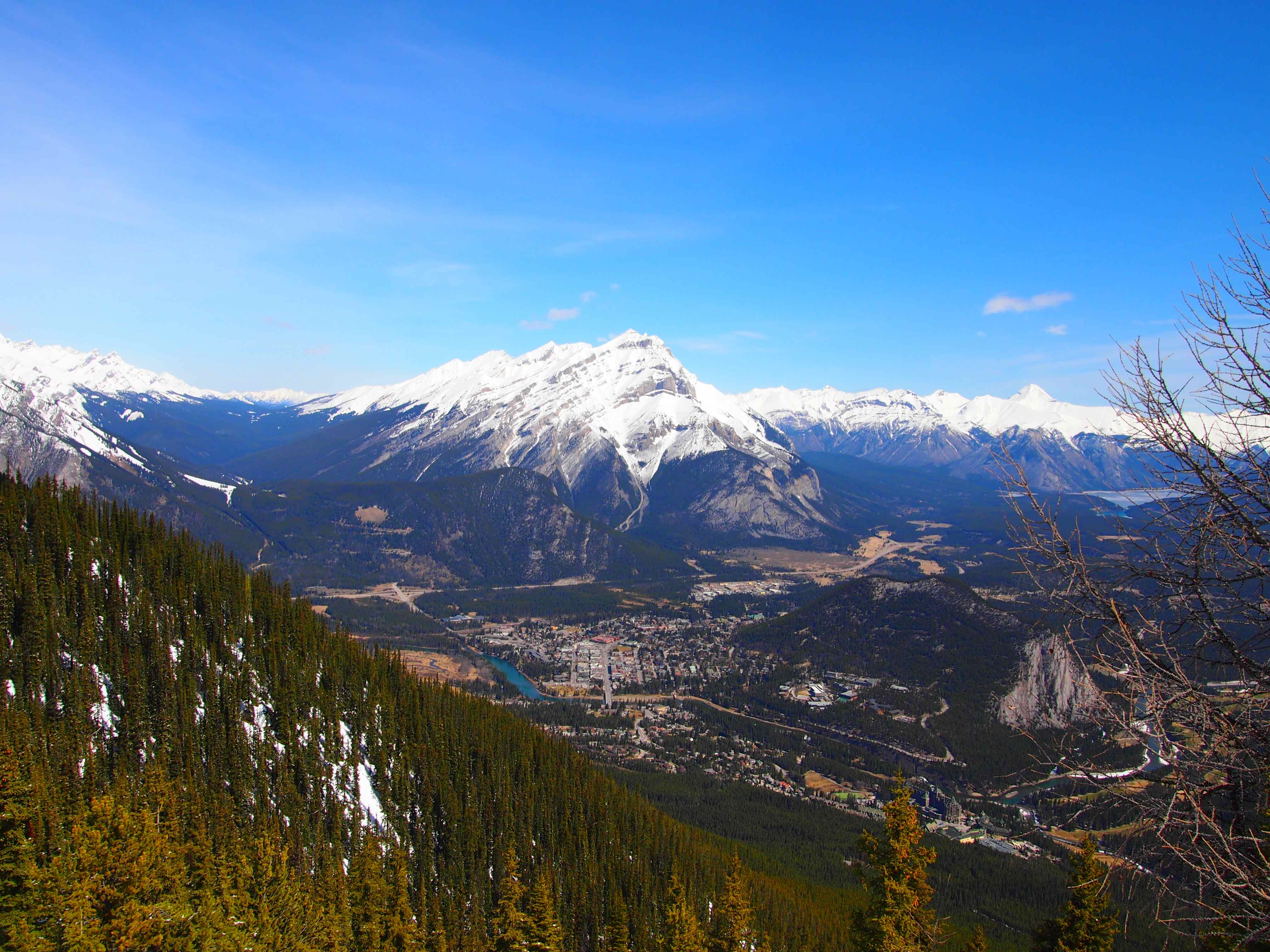 Sulphur Mountain View 1