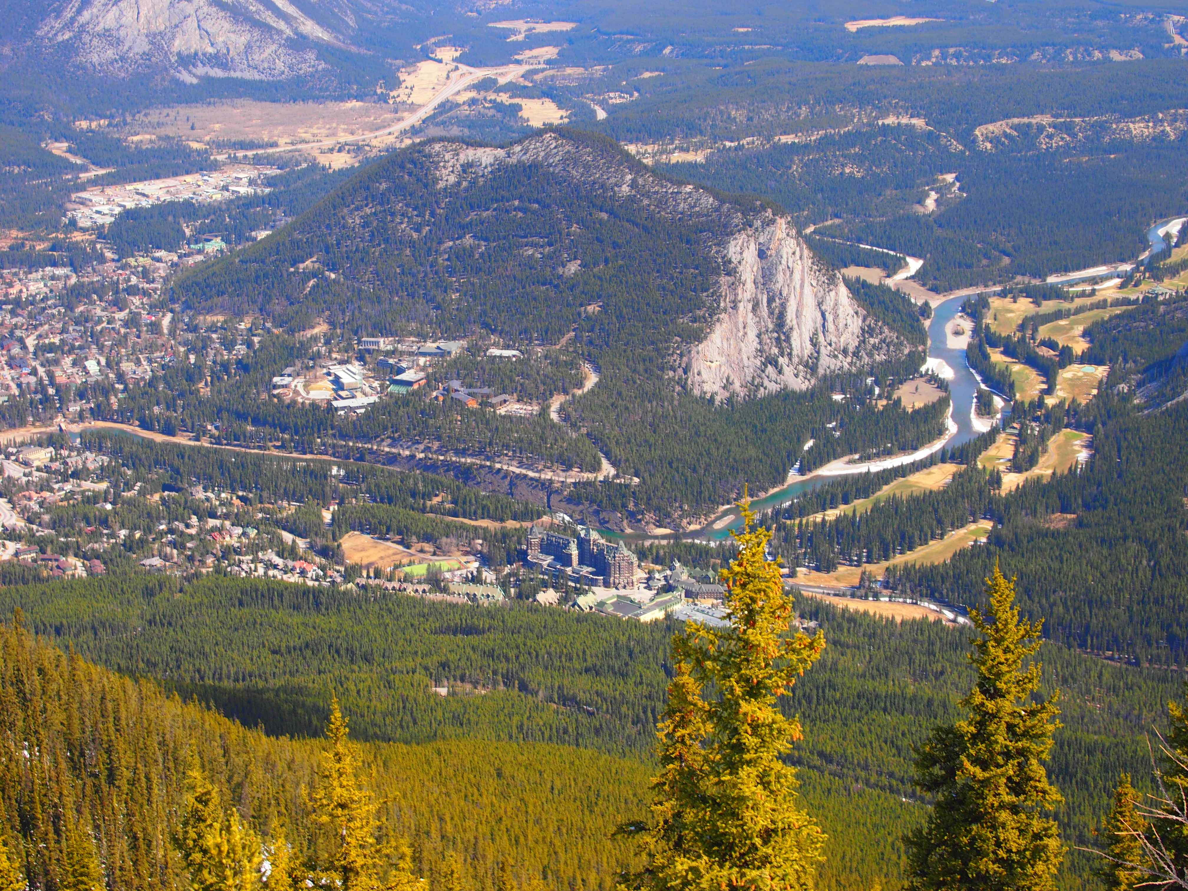 Sulphur Mountain View 2