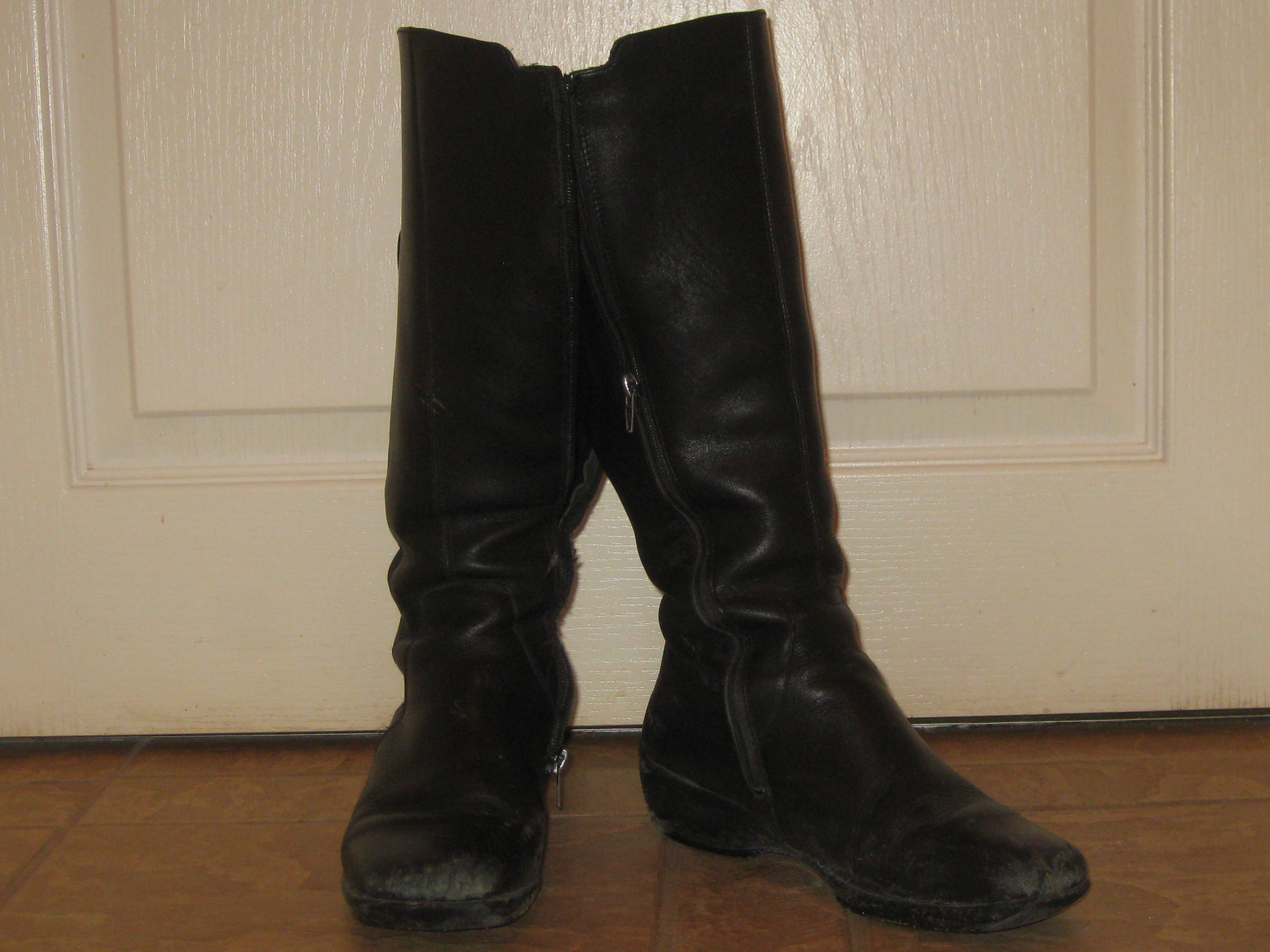 Old Black Boots